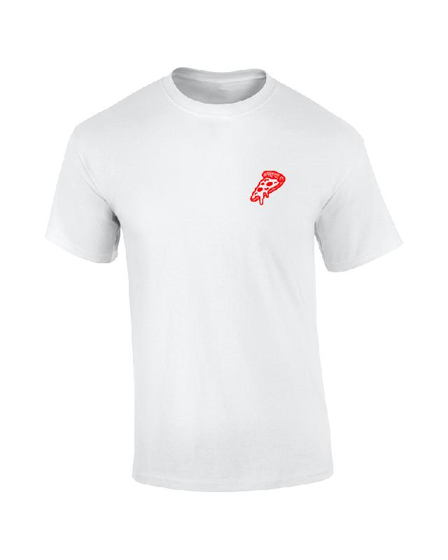 CRISPY CRUST DELIVERY T-Shirt Weiss