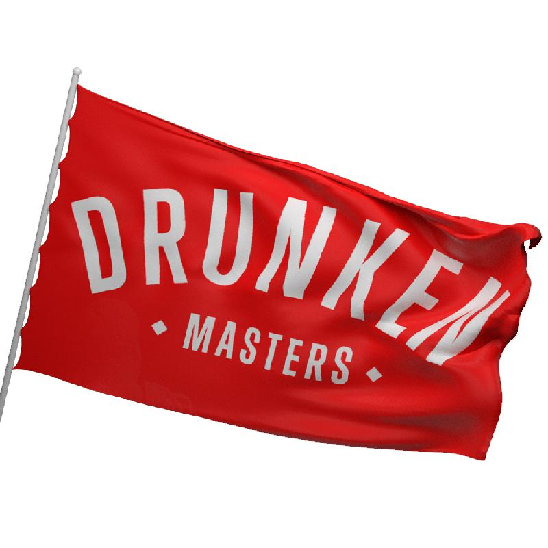 DRUNKEN MASTERS FLAGGE / MIXTAPE