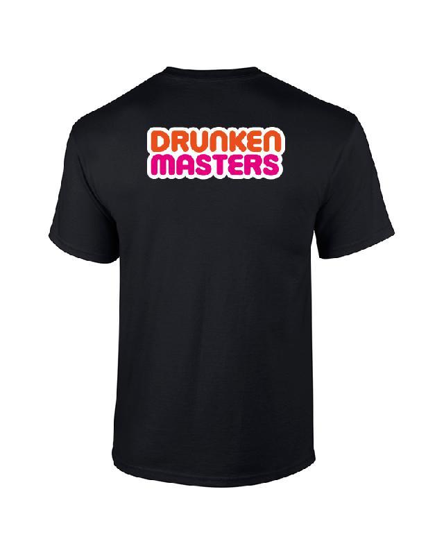 DRUNKIN DONUT T-Shirt Schwarz