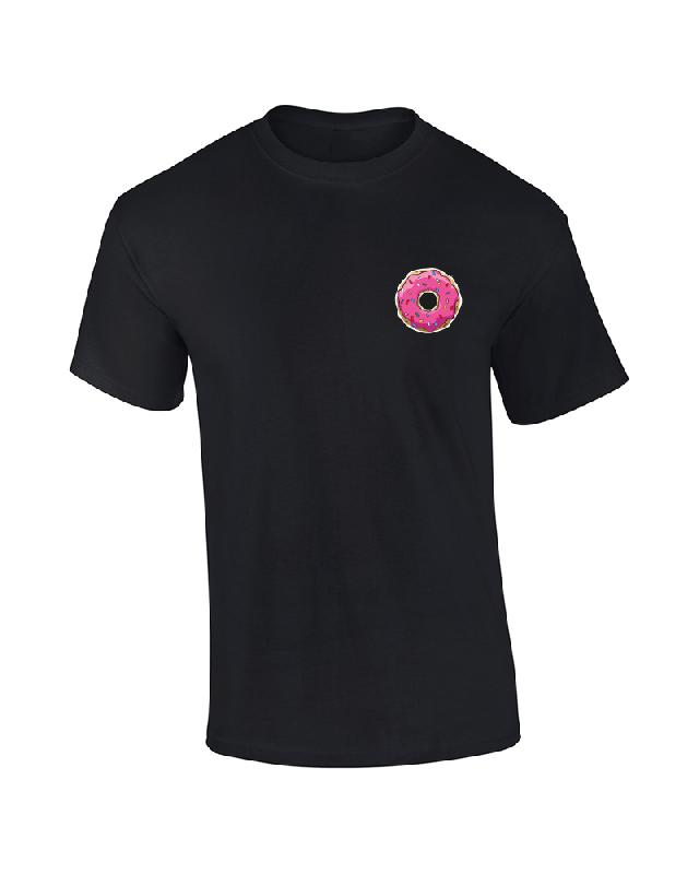 DRUNKIN DONUT T-Shirt black