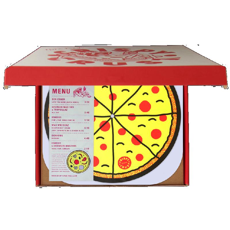 LIMITED CRISPY CRUST x SERATO VINYL BOX Premiumbox