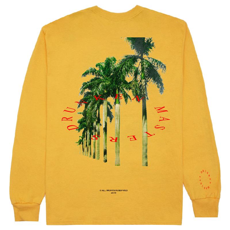 Palms Longsleeve Gold