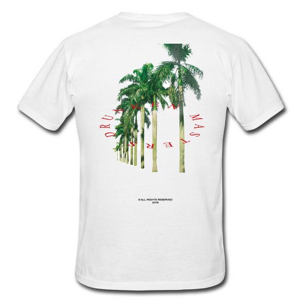 Palms T-Shirt White