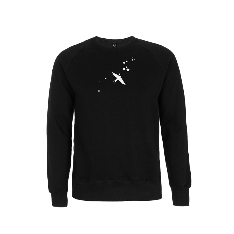 LOGO ART SWEATER Sweater Unisex, Black