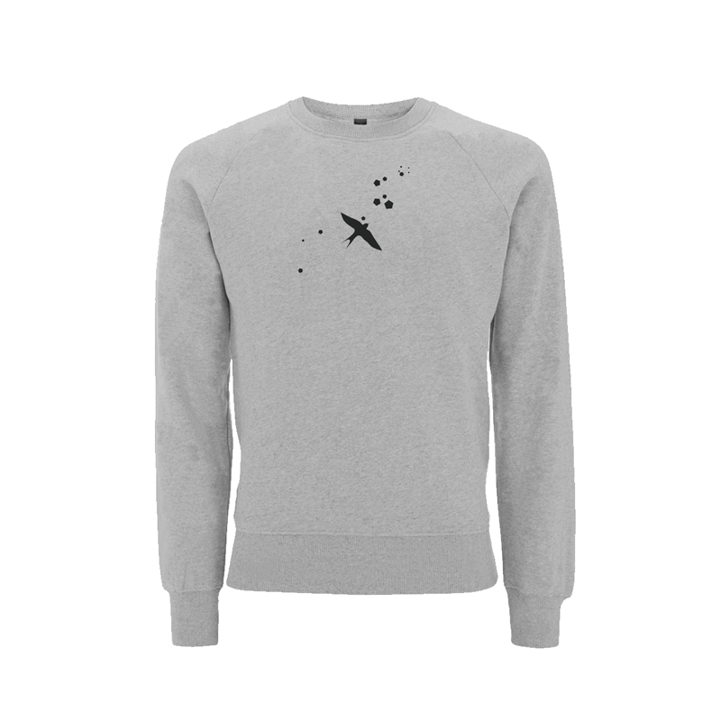 LOGO ART SWEATER Sweater Unisex, Grey