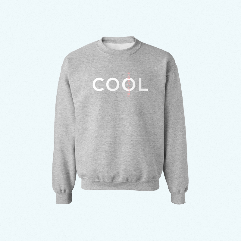 COOL Sweater Sweater Grau
