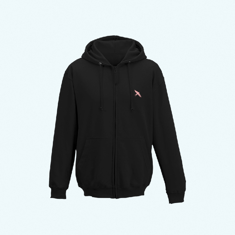 I ZIPPER BLACK Kapuzenpullover black
