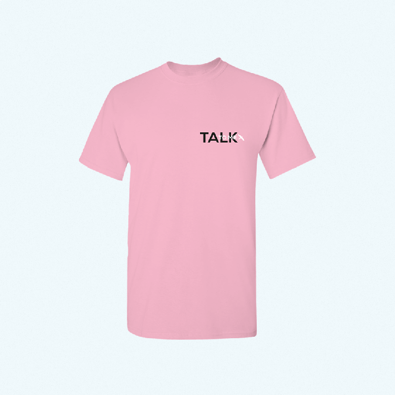 TALK TO ME TEE T-Shirt Pink