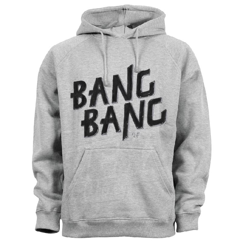 Bang Bang Hoodie Grau