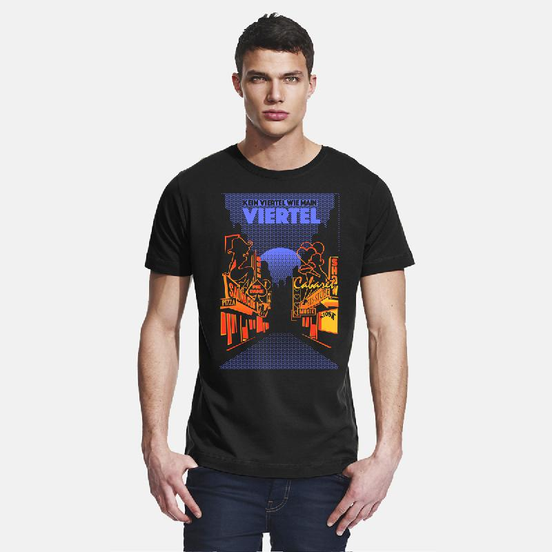 Bahnhofsviertel T-Shirt black