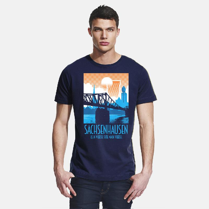 Sachsenhausen T-Shirt navy