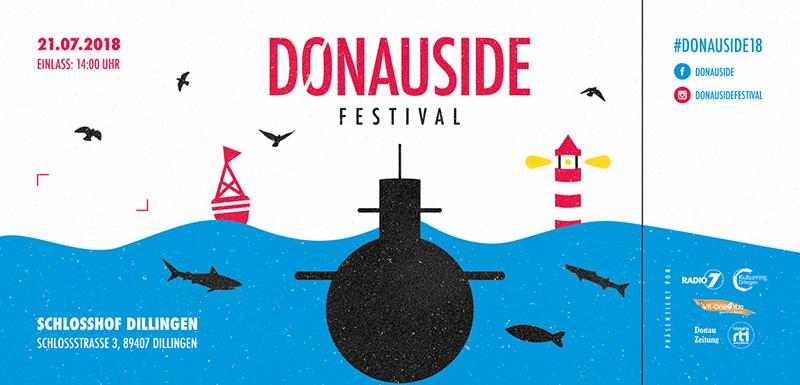 21.07.2018 Donauside Festival Hardticket inkl. VVK