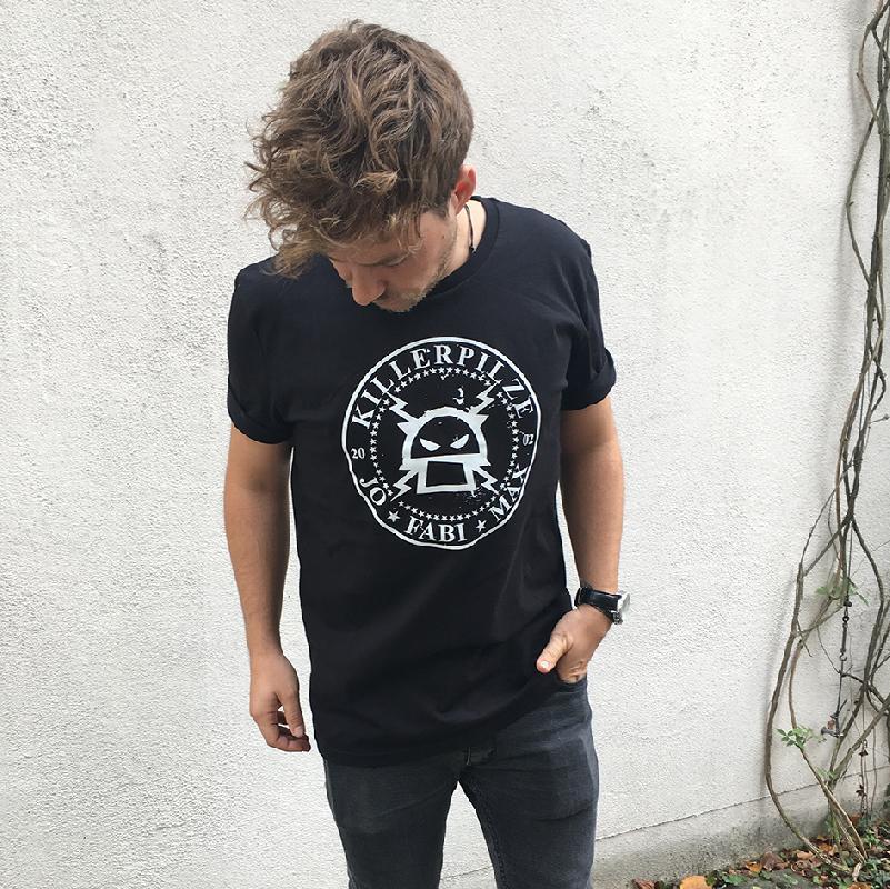 Kreislogo T-Shirt Schwarz