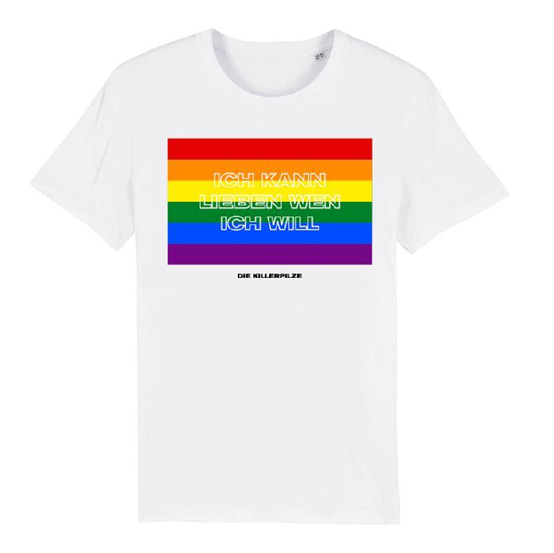 Lieben Wen Ich Will T-Shirt Weiss