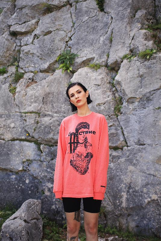 Longsleeve - SOLD OUT Longsleeve Coral Silk