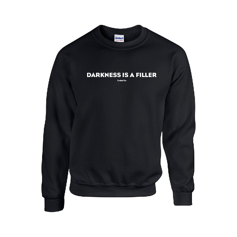 Darkness Sweater Sweater Schwarz