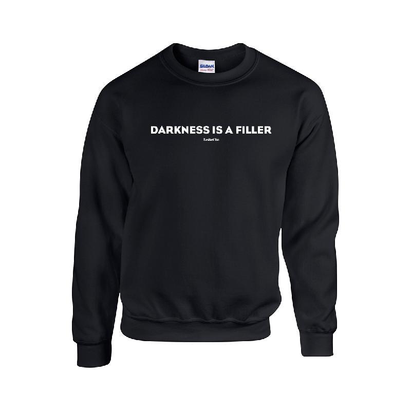 Darkness Sweater Sweater Schwarz