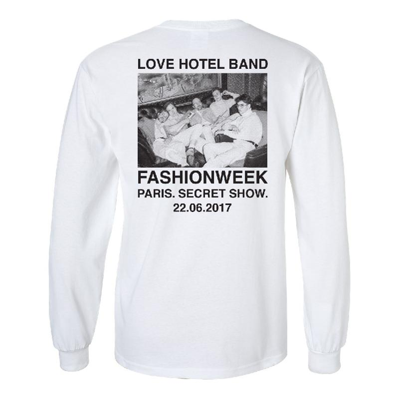 weiter weiter paris longsleeve limited edition longsleeve weiss love hotel band shop. Black Bedroom Furniture Sets. Home Design Ideas