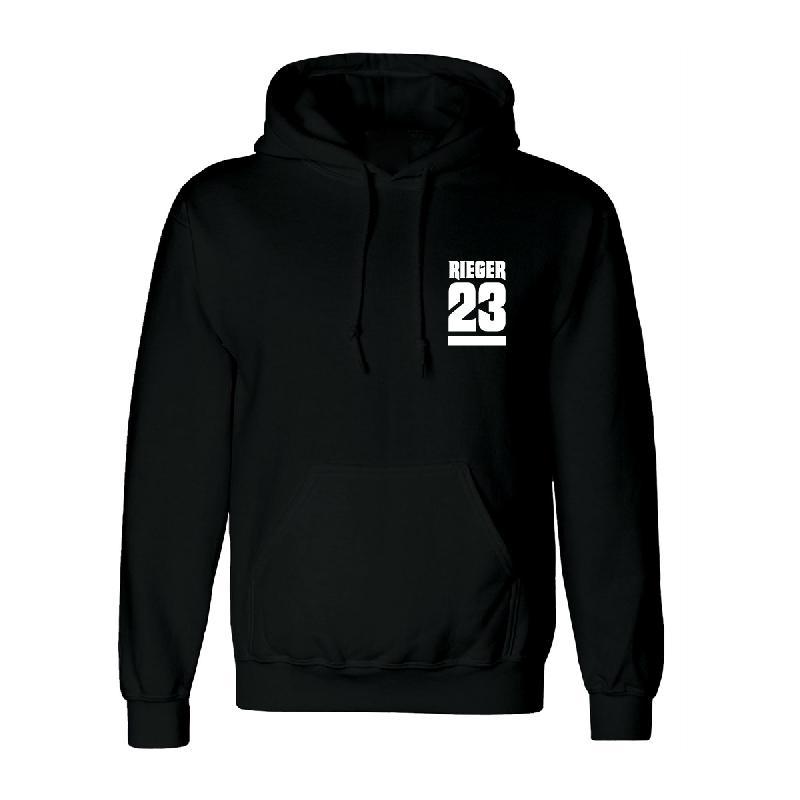23 Hoodie Hoodie Schwarz
