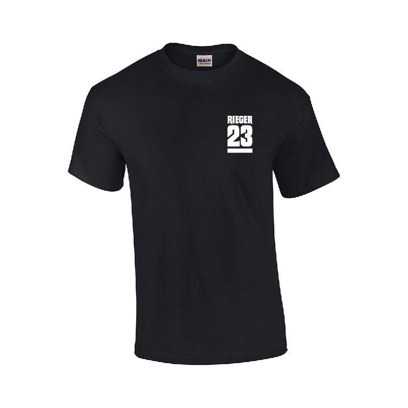 23 T-Shirt T-Shirt Schwarz