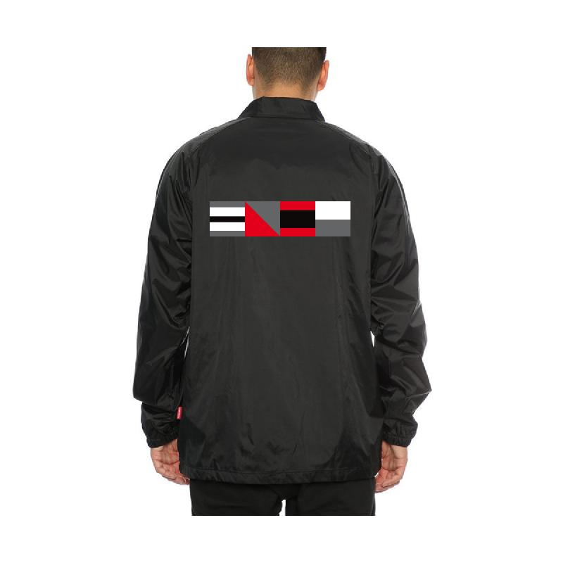 Code Jacket Coachjacket Black