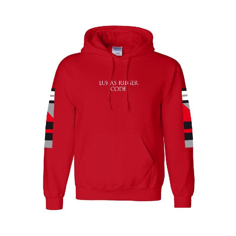 CODE TOUR 2018 Hoodie Hoodie red