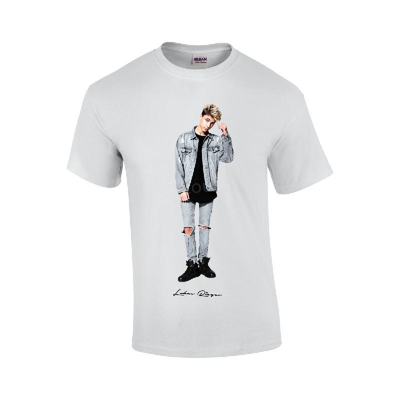 Foto T-Shirt weiss
