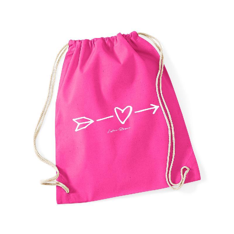 Heart Gymbag Gymbag Pink