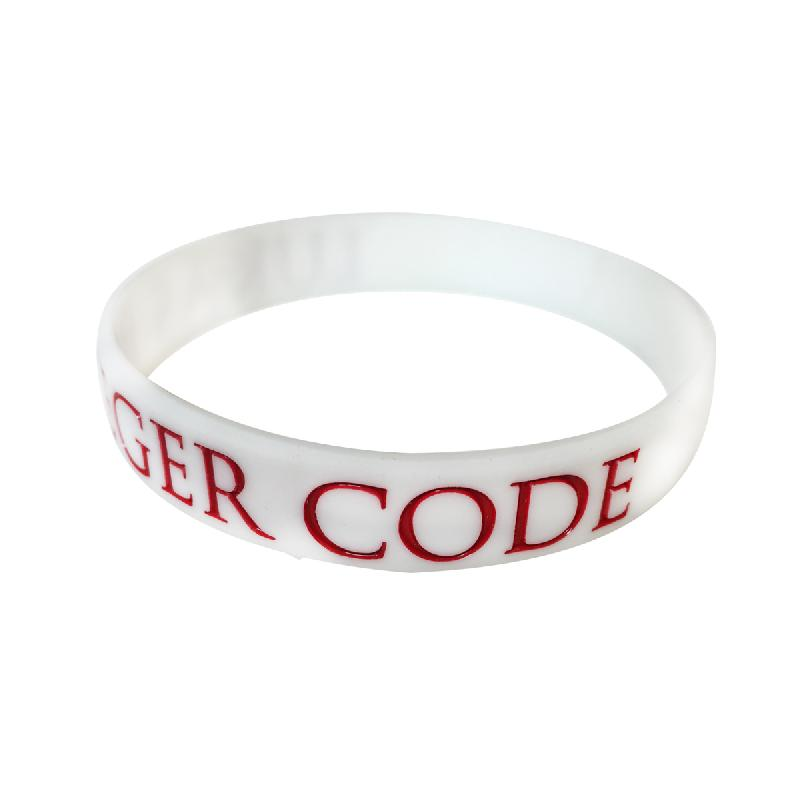 Lukas Code Weiss Armband