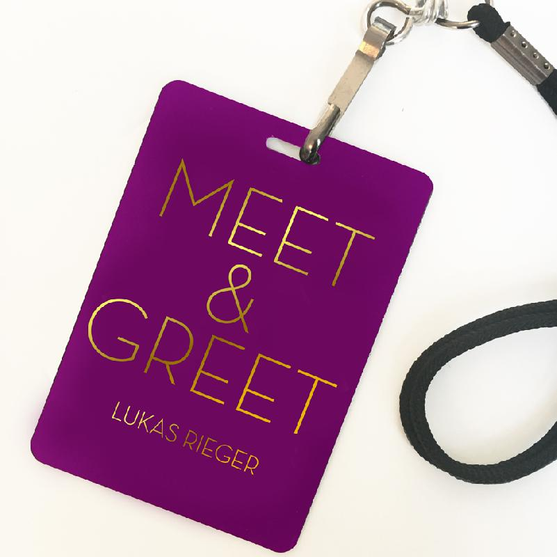 MEET & GREET UPGRADE MANNHEIM Ticket