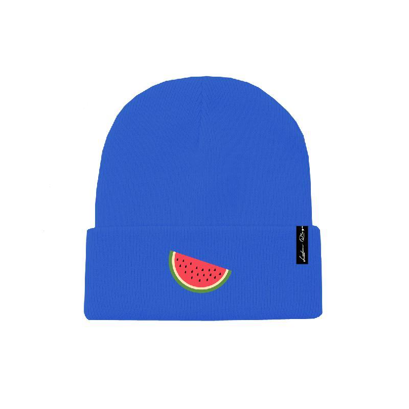 Melone Beanie royalblau