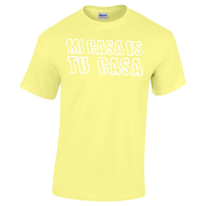 MI CASA ES TU CASA T-Shirt Yellow