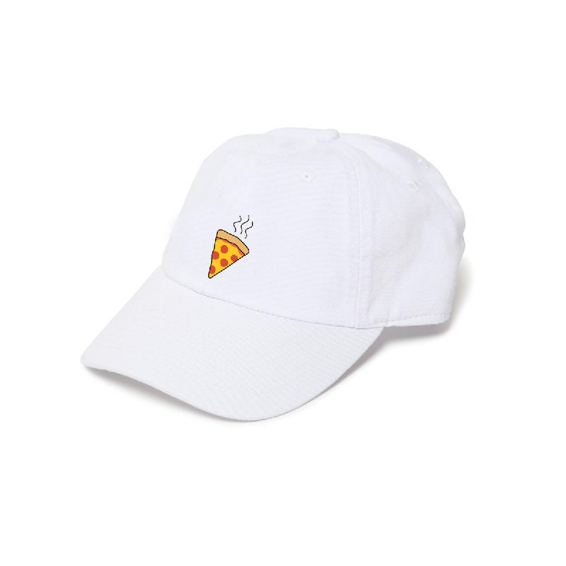 Pizza Cap Weiß