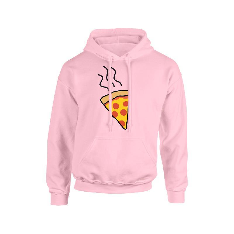 Pizza Hoodie Rosa