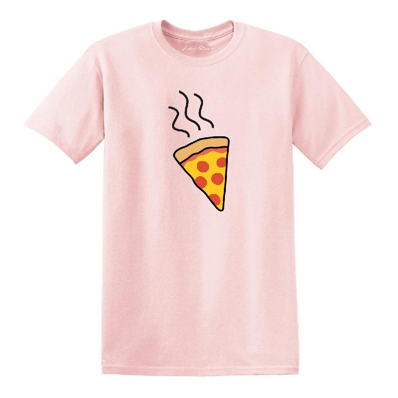 Pizza T-Shirt pink