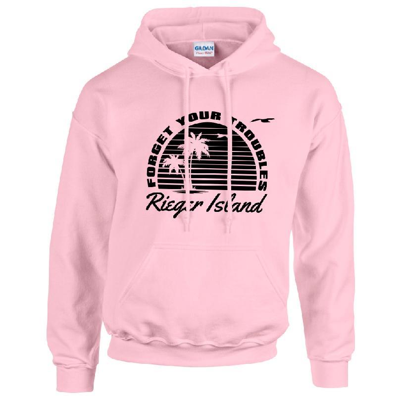 RIEGER ISLAND Hoodie light pink