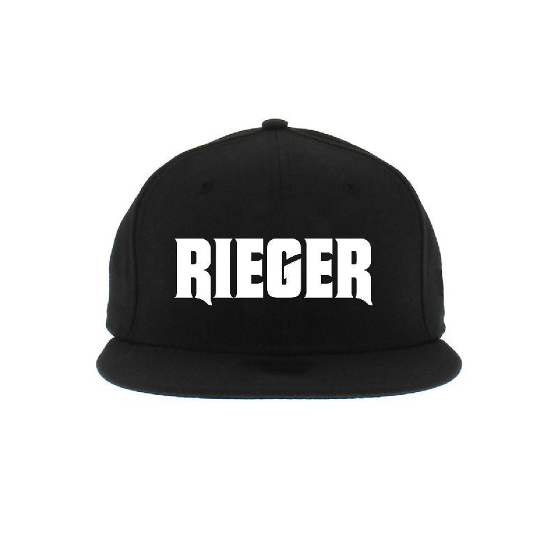 Rieger Snapback Snapback Schwarz