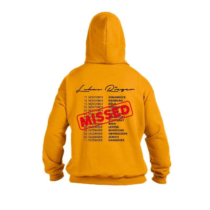 Compass Tour 2016 Hoodie yellow