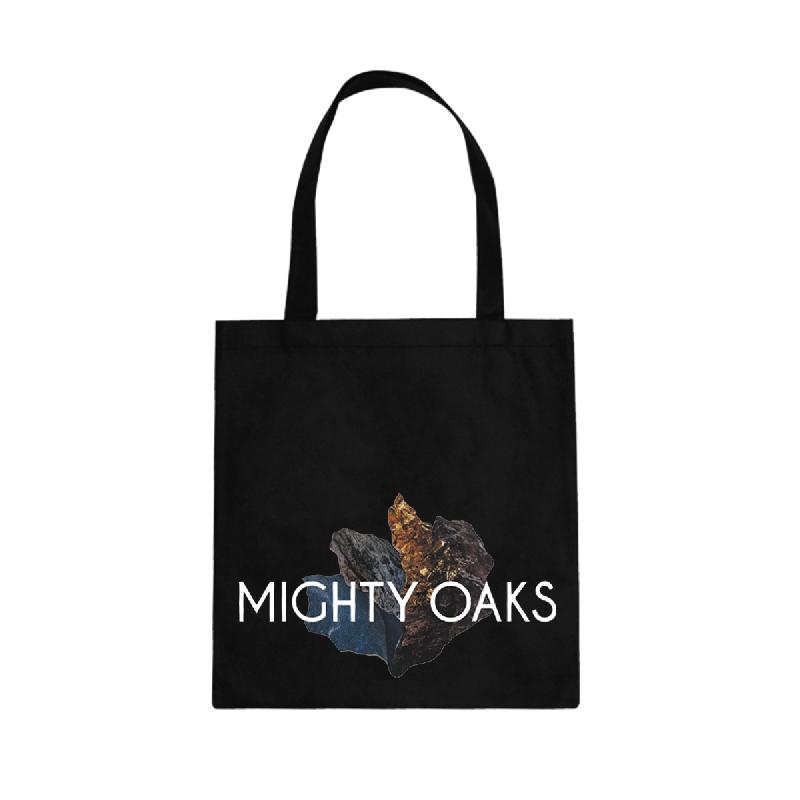 Mighty Oaks Tote Bag Beutel Schwarz