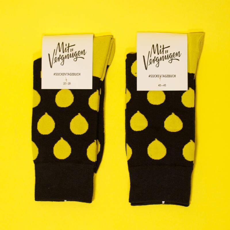 Allover socks Schwarz
