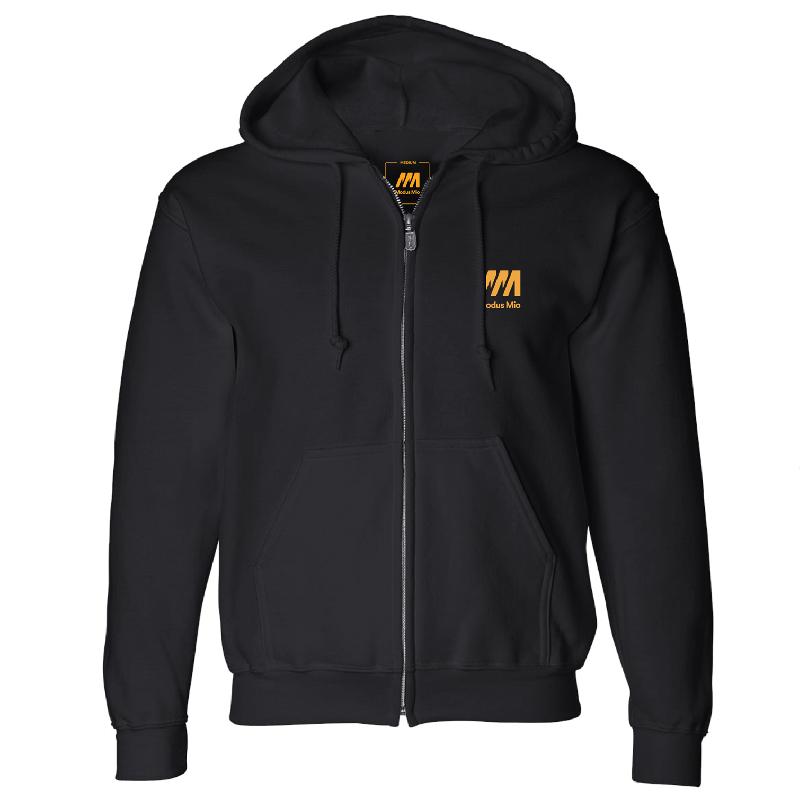 Modus Mio Zip Hoodie Zipper Black