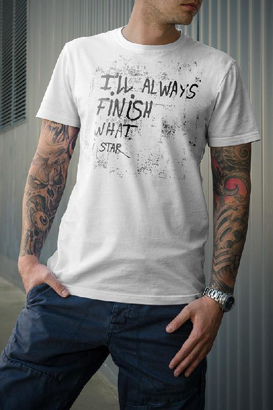 I'll Always T-Shirt weiß