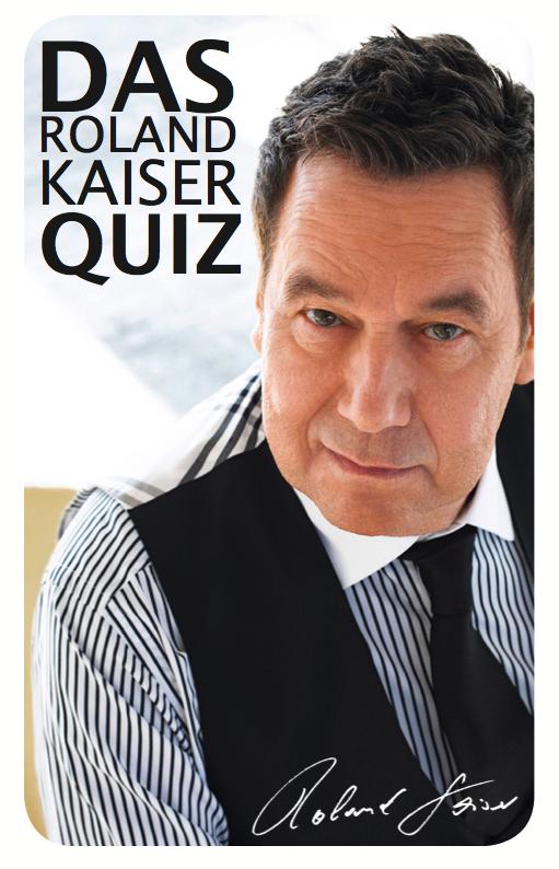Das Roland Kaiser Quiz Quiz white