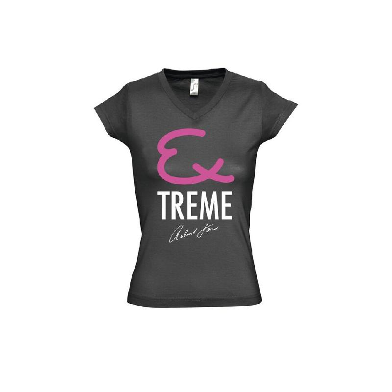Extreme Damen T-Shirt Girlie Anthrazit