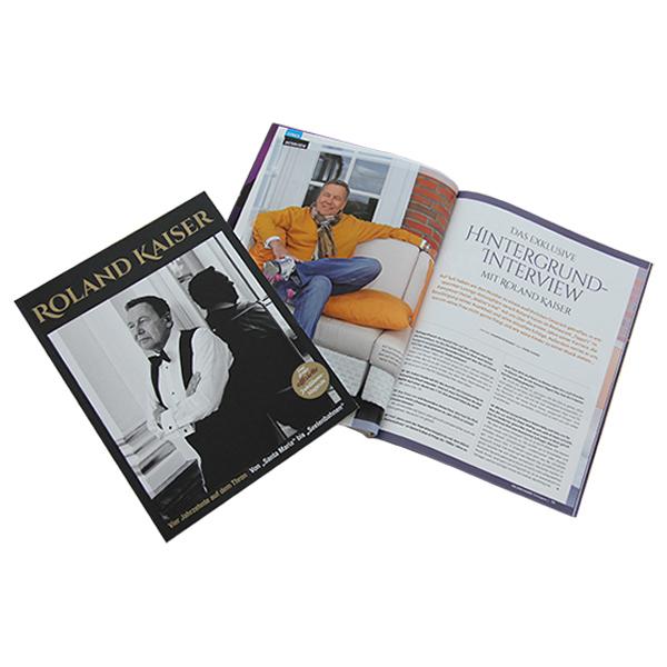 Jubiläumsmagazin Buch signed