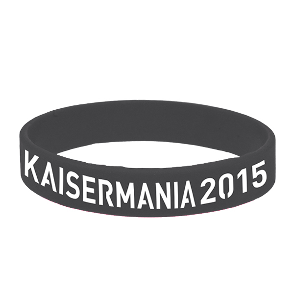 Kaiser Mania 2015 Armband schwarz