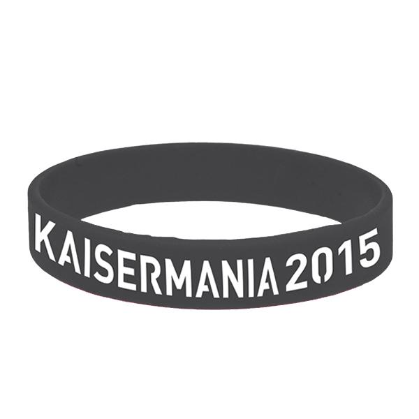 Kaiser Mania 2015 Wristband black