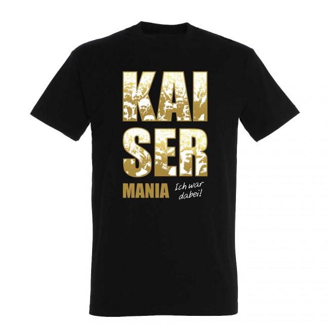 Kaiser Mania T-Shirt schwarz