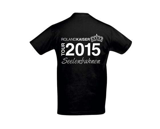 Tour 2015 T-Shirt schwarz