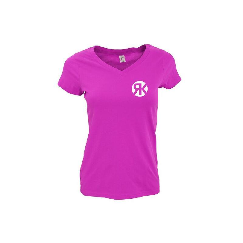 Warum Damen T-Shirt Girlie Fuchsia
